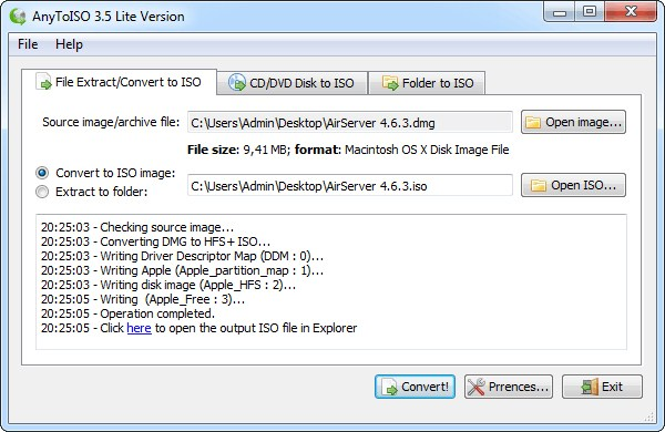 Как создать iso файл mac
